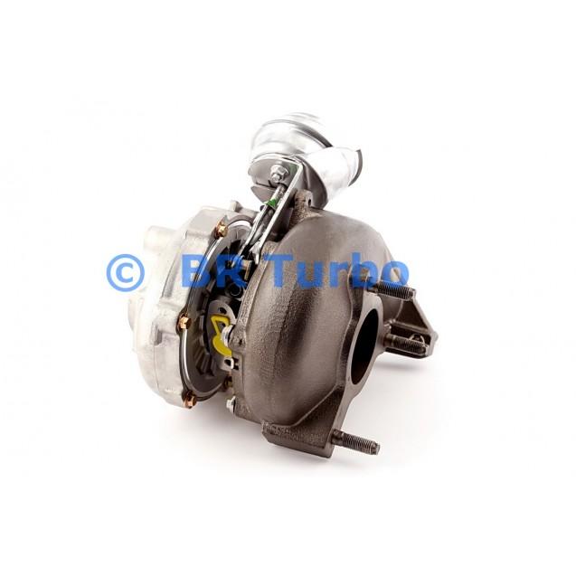 Taastatud turbokompressor NISSAN Navara 2.5 DI