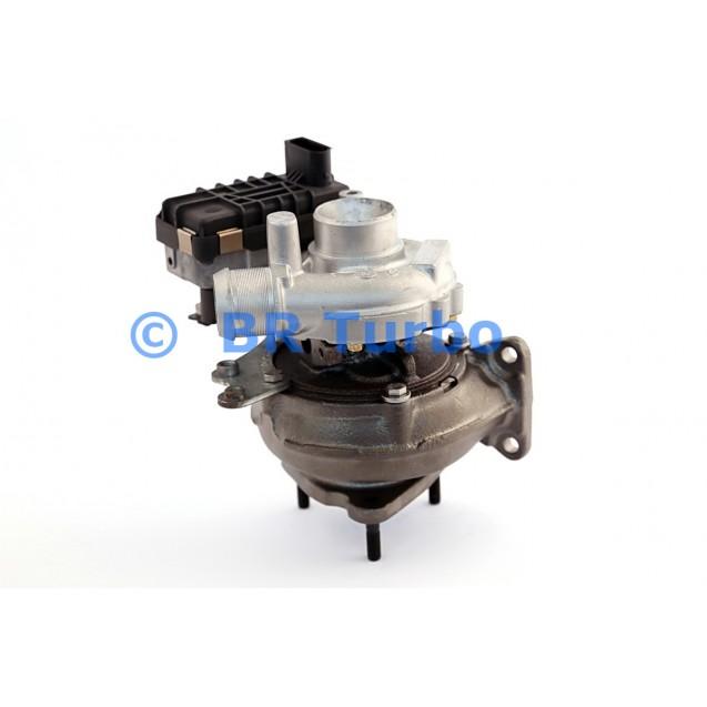 Taastatud turbokompressor GARRETT | 752341-5001RS