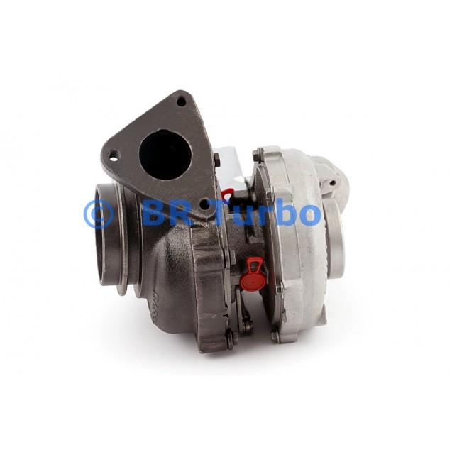 Taastatud turbokompressor GARRETT | 752990-5001RS