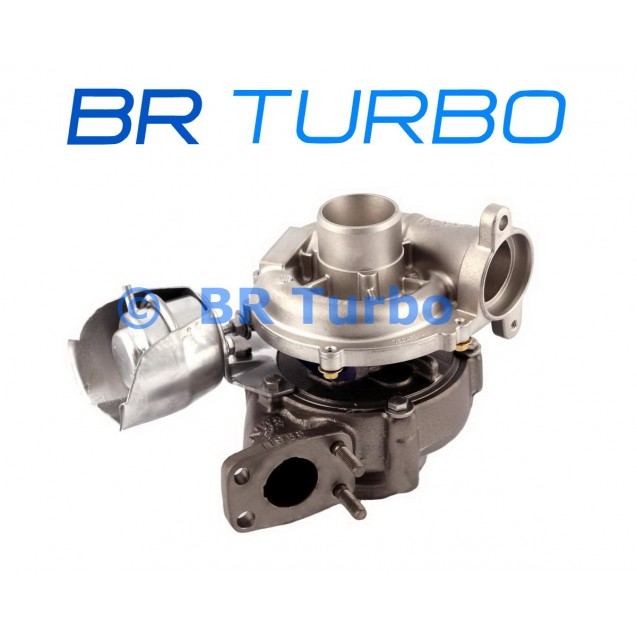 Taastatud turbokompressor PEUGEOT 308 I 1.6 HDi FAP