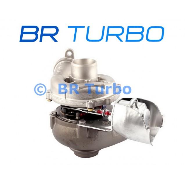 Taastatud turbokompressor PEUGEOT 307 1.6 HDi