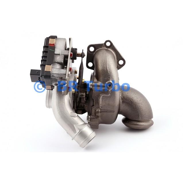 Taastatud turbokompressor GARRETT   753544-5001RS