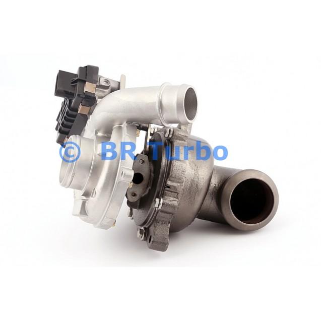 Taastatud turbokompressor FORD Mondeo IV 2.2 TDCi