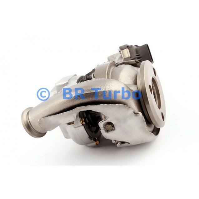 Taastatud turbokompressor GARRETT   755298-5001RS