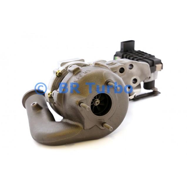 Taastatud turbokompressor GARRETT | 755299-5001RS