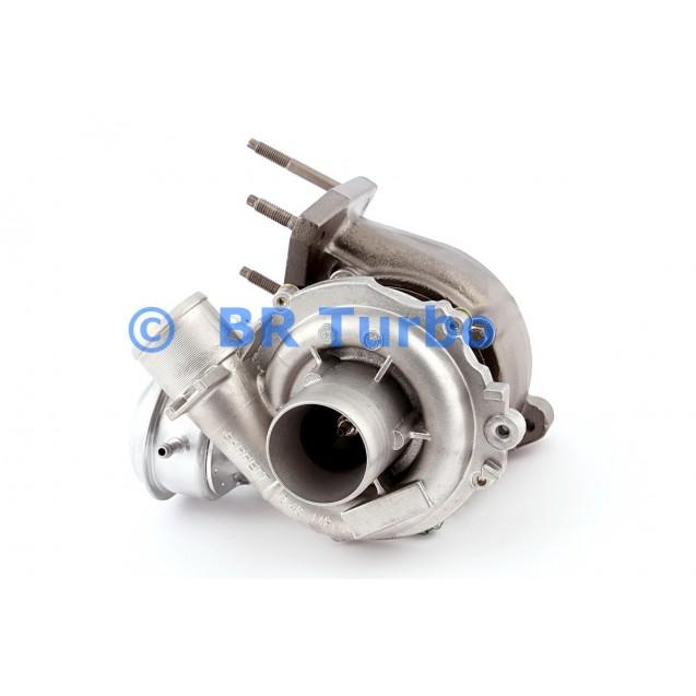 Taastatud turbokompressor GARRETT | 755507-5001RS