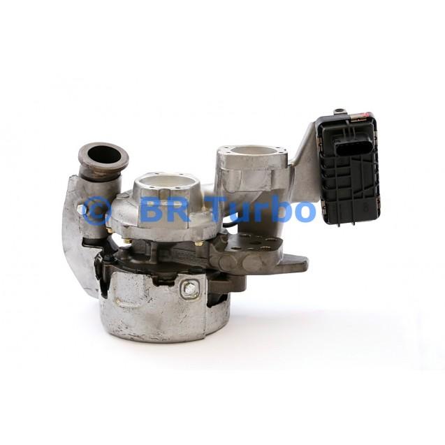Taastatud turbokompressor GARRETT | 755963-5001RS