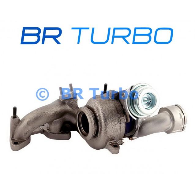 Taastatud turbokompressor MITSUBISHI Outlander 2.0 D