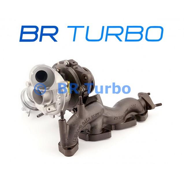 Taastatud turbokompressor GARRETT | 757042-5001RS
