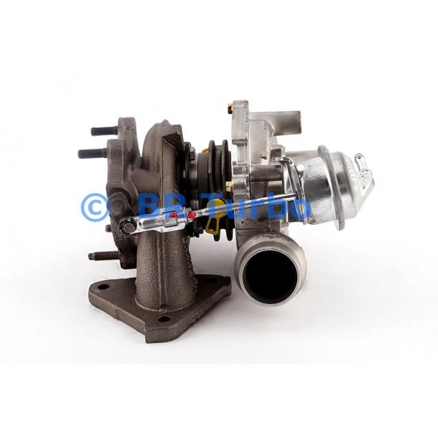Taastatud turbokompressor OPEL Movano 2.5 CDTI