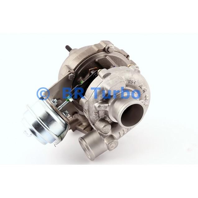 Taastatud turbokompressor KIA Sportage II 2.0 CRDi