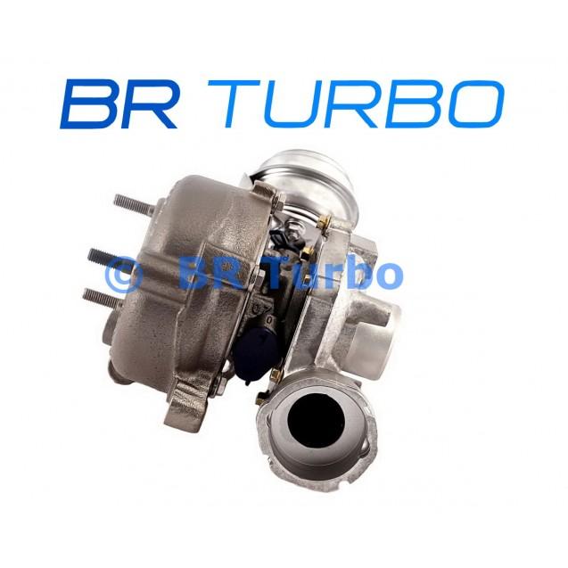 Taastatud turbokompressor BORGWARNER/GARRETT | 758219-5001RS
