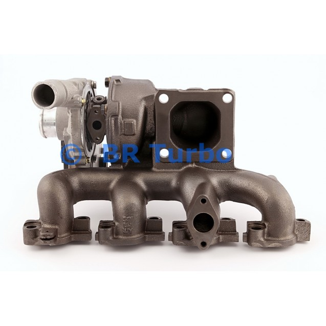 Taastatud turbokompressor GARRETT | 758226-5001RS