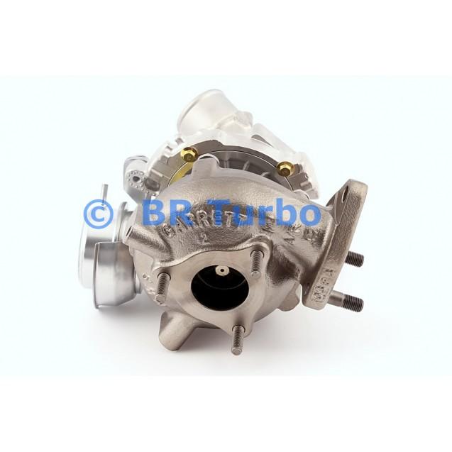 Taastatud turbokompressor GARRETT   758870-5001RS