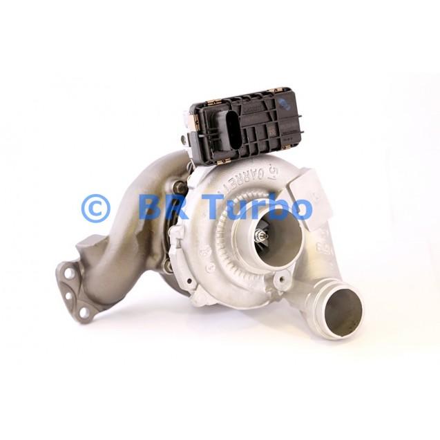 Taastatud turbokompressor GARRETT   761154-5001RS