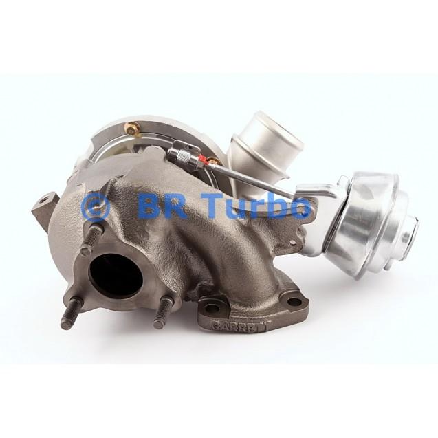 Taastatud turbokompressor GARRETT | 761650-5001RS
