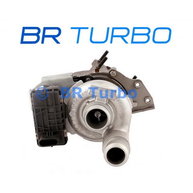 Taastatud turbokompressor FORD Mondeo III 1.8 TDCi
