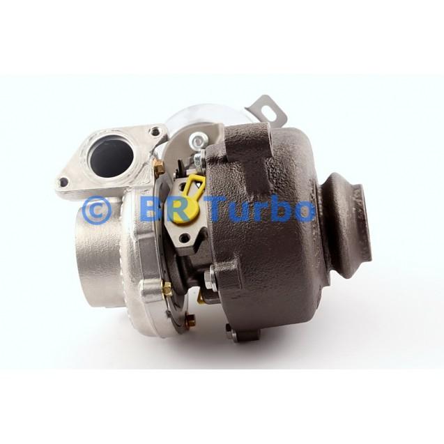 Taastatud turbokompressor PEUGEOT 807 2.0 HDi