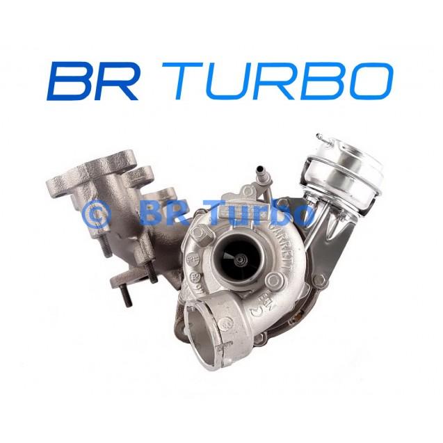 Taastatud turbokompressor AUDI A3 2.0 TDI (8P/PA)