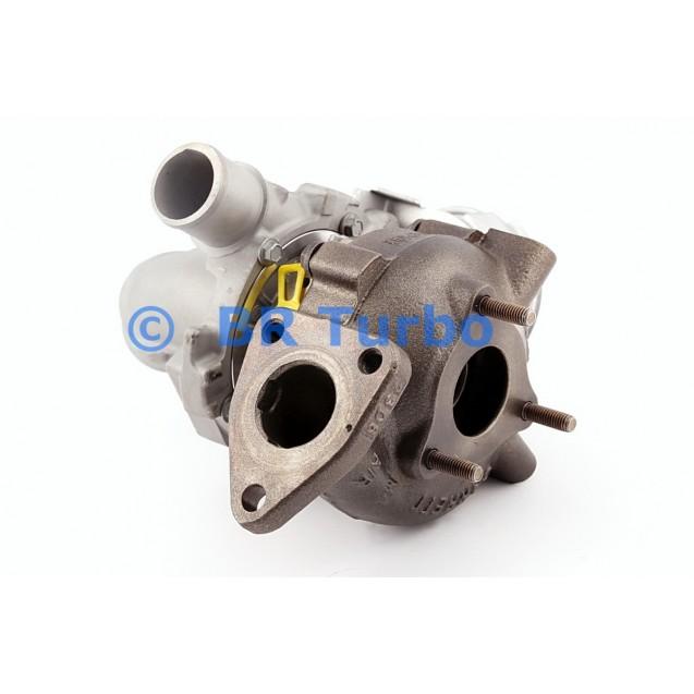 Taastatud turbokompressor TOYOTA Yaris 1.4 D-4D