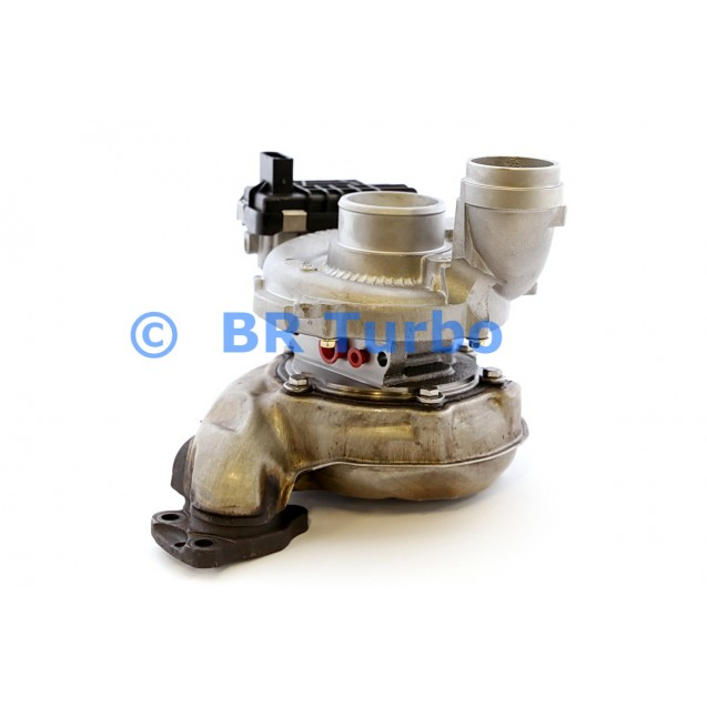 Taastatud turbokompressor MERCEDES PKW R Class 3.0 R300 CDI W251