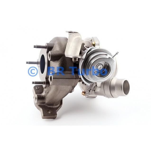 Taastatud turbokompressor NISSAN X-Trail 2.0 dci (T31)
