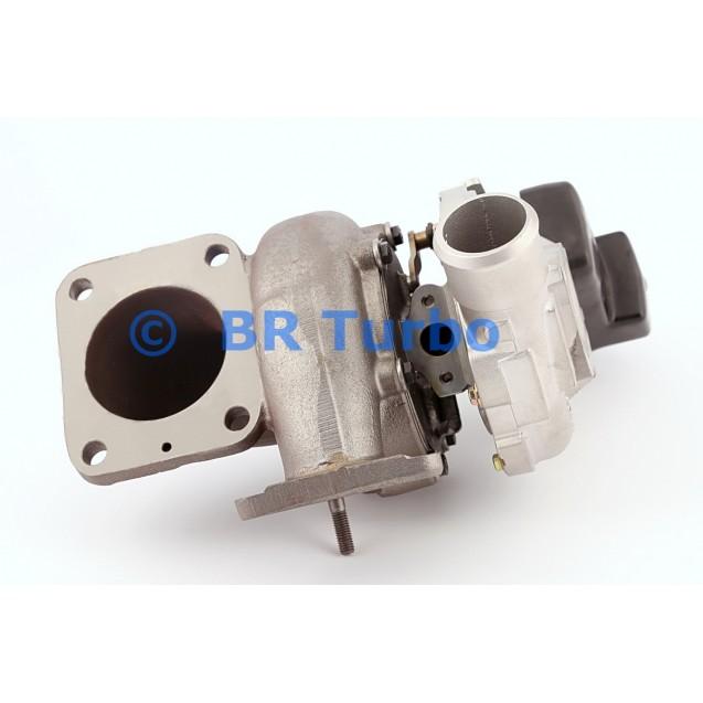 Taastatud turbokompressor GARRETT   773098-5001RS