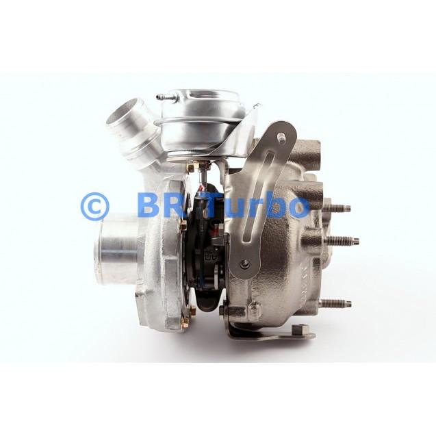 Taastatud turbokompressor NISSAN Qashqai 2.0 dCi