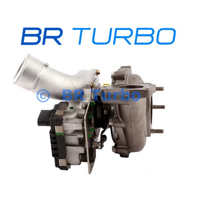 Taastatud turbokompressor PORSCHE Cayenne 3.0 D