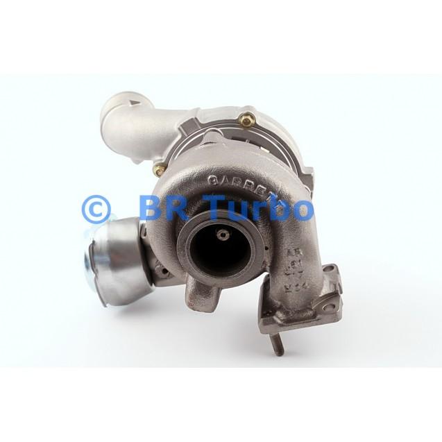 Taastatud turbokompressor ALFA ROMEO 156 1.9 JTD