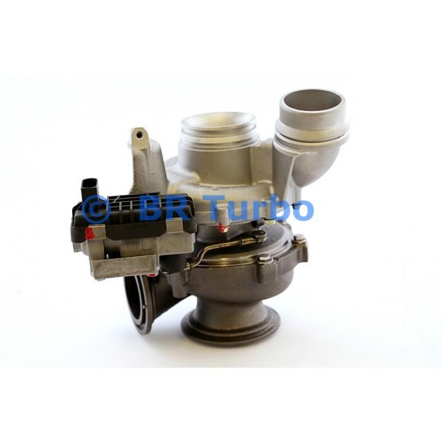Taastatud turbokompressor BMW 330 D 3.0 D (E90/E91/E92/E93)