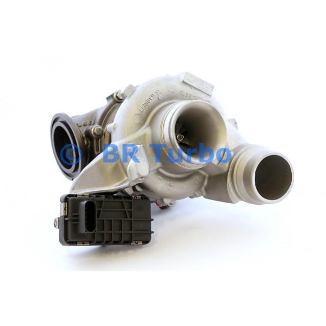 Taastatud turbokompressor BMW 325 D 3.0 D (E90/E91/E92/E93)