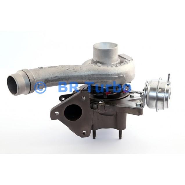 Taastatud turbokompressor OPEL Vivaro 2.5 CDTI