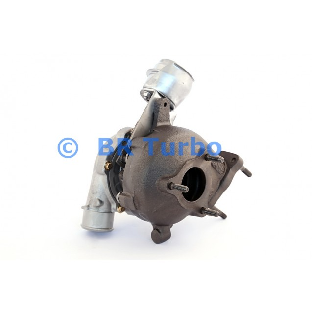 Taastatud turbokompressor HYUNDAI Getz 1.5 D