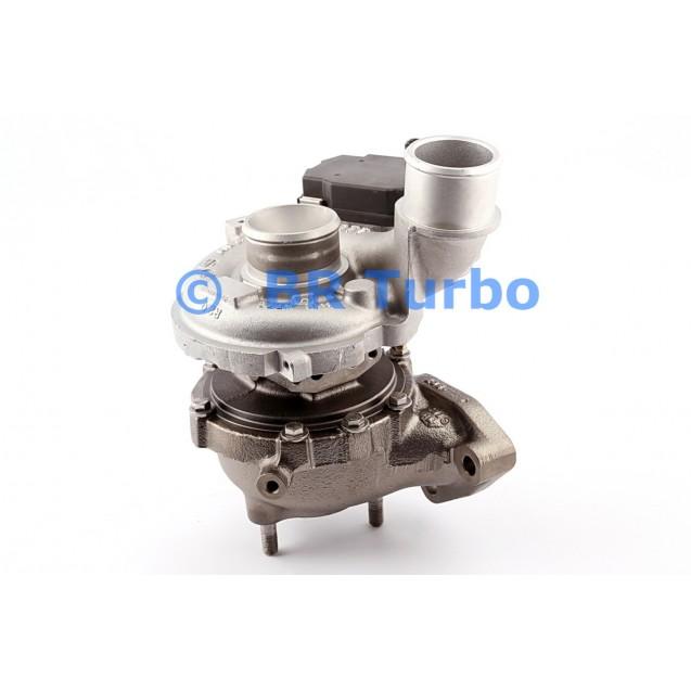 Taastatud turbokompressor HYUNDAI Tucson 2.0 CRDi