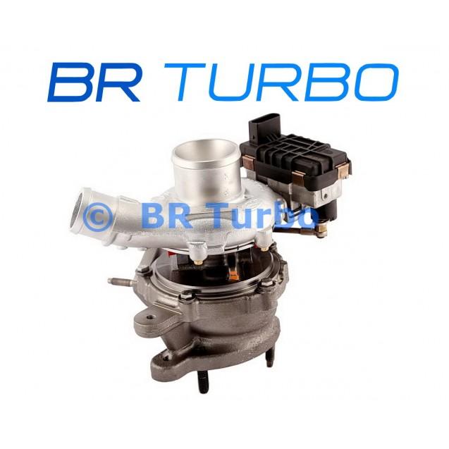 Taastatud turbokompressor GARRETT | 786880-5001RS