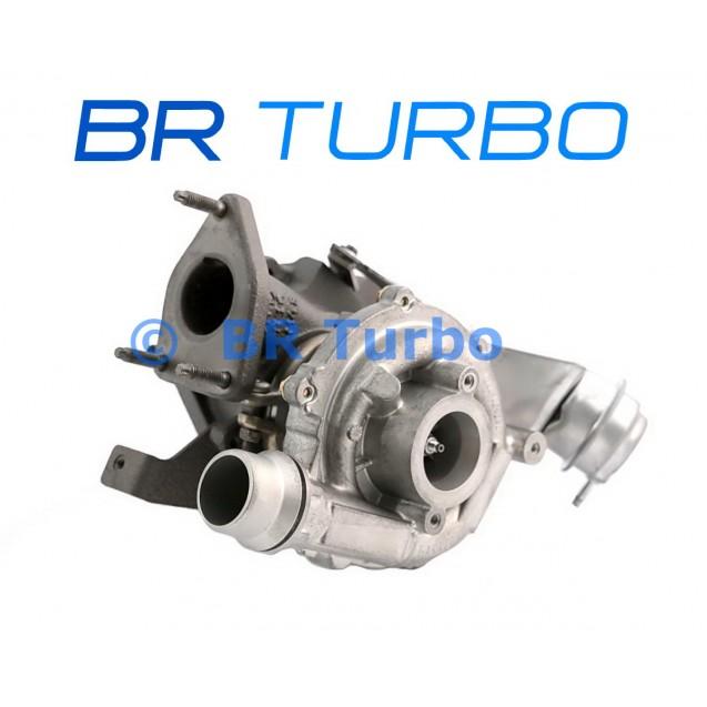 Taastatud turbokompressor OPEL Movano B 2.0 Dci