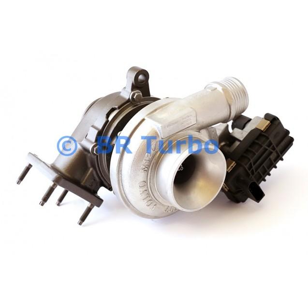 Taastatud turbokompressor GARRETT | 787630-5001RS