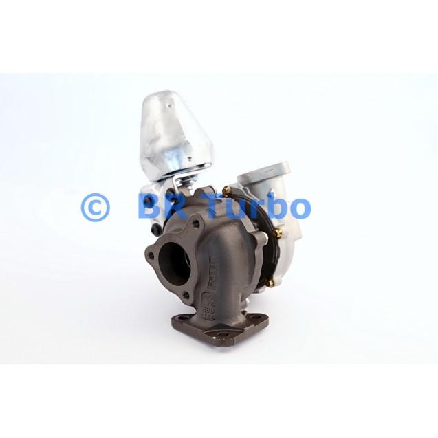 Taastatud turbokompressor CHEVROLET Cruze 1.7 TD