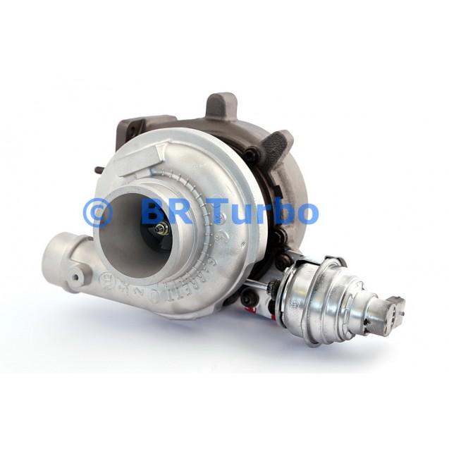 Taastatud turbokompressor MITSUBISHI Fuso 3.0 D Canter