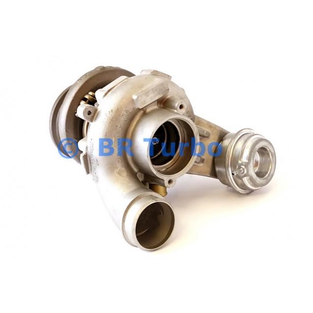 Taastatud turbokompressor BMW X6 4.4 M (E71)