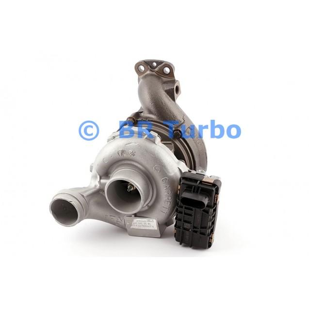 Taastatud turbokompressor MERCEDES PKW E Class 3.0 350 CDI (C207)
