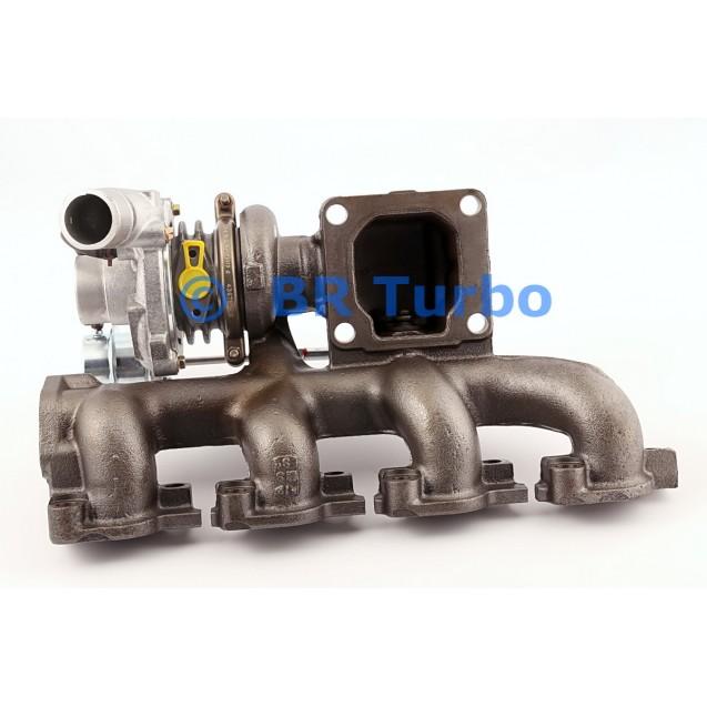 Taastatud turbokompressor FORD Transit V 2.0 Di