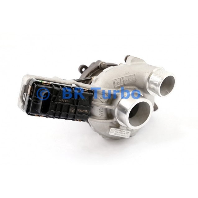 Taastatud turbokompressor LAND ROVER Range Rover 4.4 D