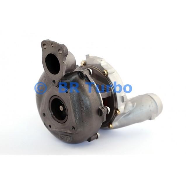 Taastatud turbokompressor MERCEDES PKW GL Class 350 3.0 D