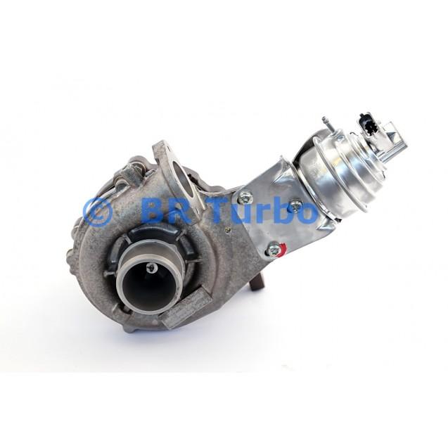 Taastatud turbokompressor LANCIA Delta III 1.6 16V JTD