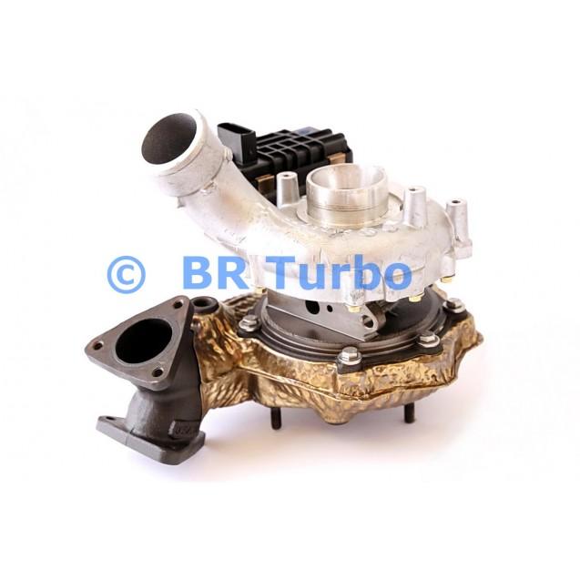 Taastatud turbokompressor AUDI A5 3.0 d