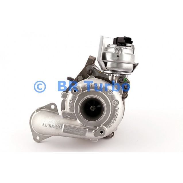 Taastatud turbokompressor CITROEN C 3 1.6 HDi/e-HDi