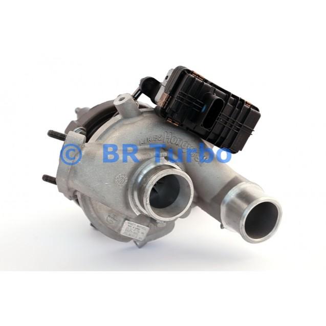 Taastatud turbokompressor KIA Sorento 2.2 D