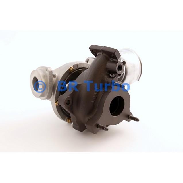 Taastatud turbokompressor AUDI A4 2.0 D